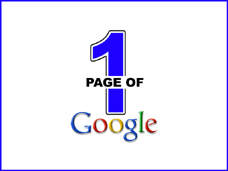 1st Page of Google - Google Ranking